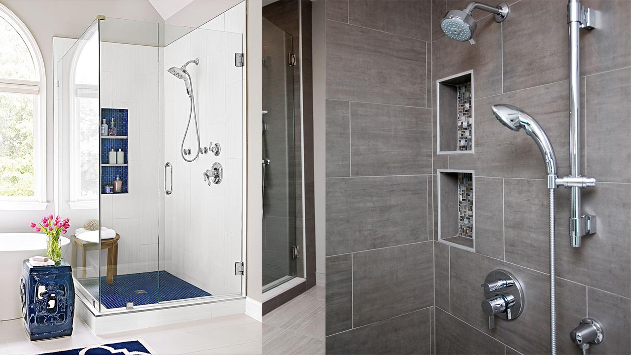 Great Shower Niches for Your Bath Items