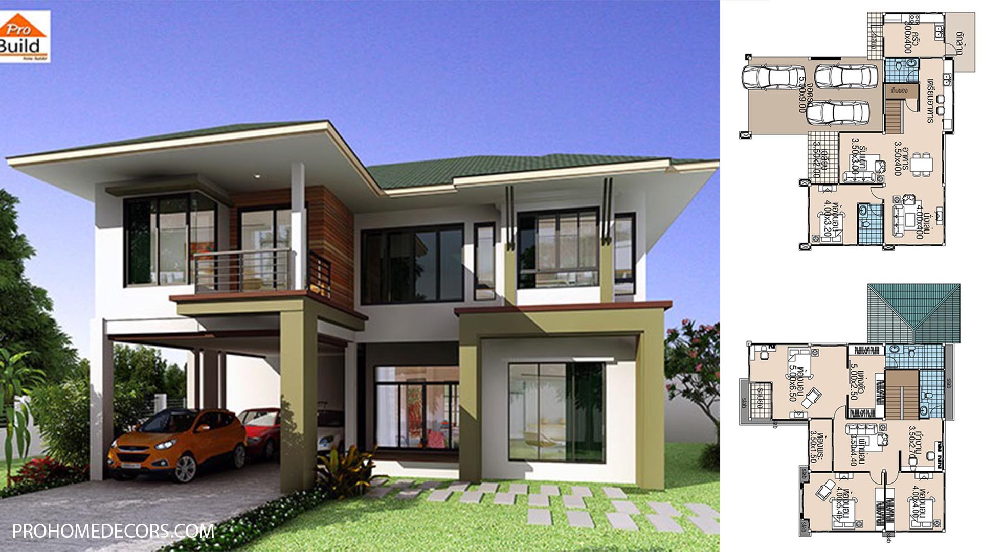House-plans-15.5x13-with-4-Beds